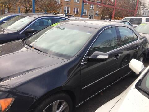 2005 Acura RL for sale at HW Used Car Sales LTD in Chicago IL