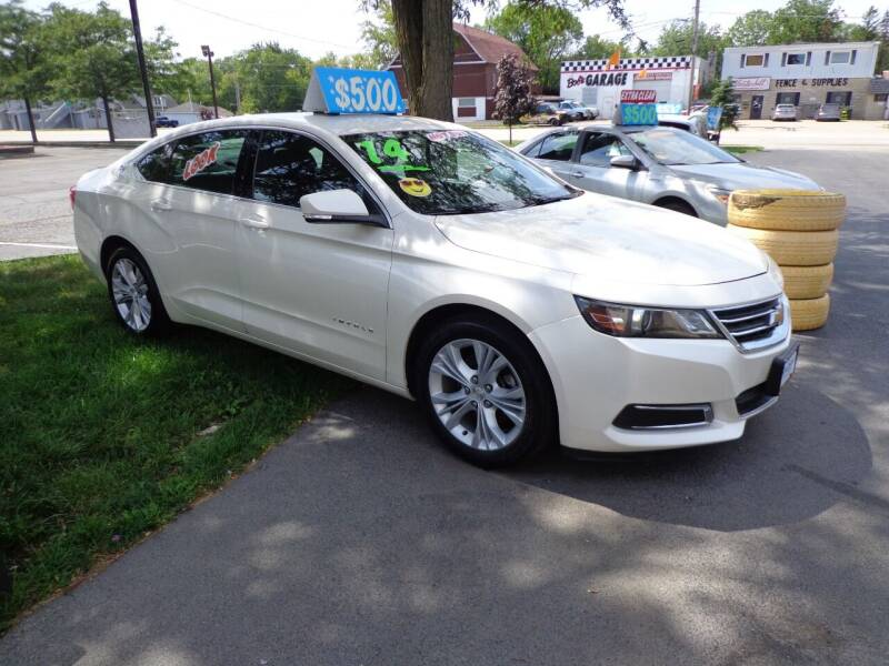 2014 Chevrolet Impala for sale at North American Credit Inc. in Waukegan IL