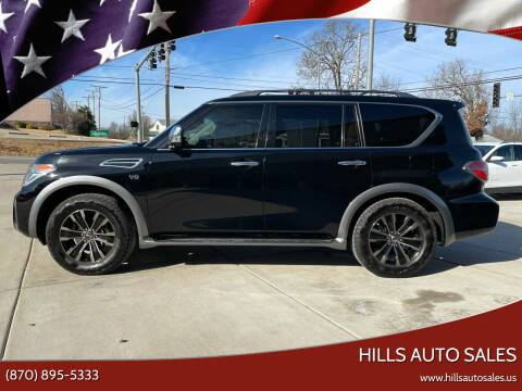 2017 Nissan Armada for sale at Hills Auto Sales in Salem AR