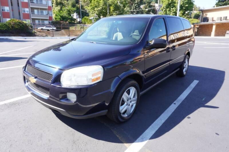 2005 Chevrolet Uplander for sale at Precision Motors LLC in Renton WA
