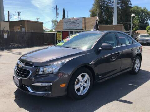 2016 Chevrolet Cruze Limited for sale at C J Auto Sales in Riverbank CA