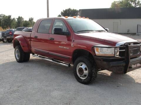 2006 Dodge Ram Pickup 3500 for sale at Frieling Auto Sales in Manhattan KS