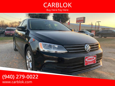 2015 Volkswagen Jetta for sale at CARBLOK in Lewisville TX