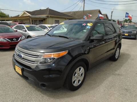 2013 Ford Explorer for sale at BAS MOTORS in Houston TX