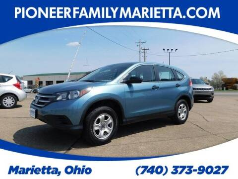 2014 Honda CR-V for sale at Pioneer Family preowned autos in Williamstown WV