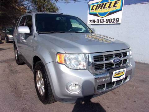 2010 Ford Escape for sale at Circle Auto Center in Colorado Springs CO