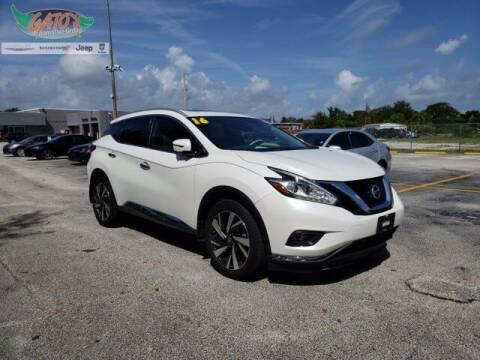2016 Nissan Murano for sale at GATOR'S IMPORT SUPERSTORE in Melbourne FL