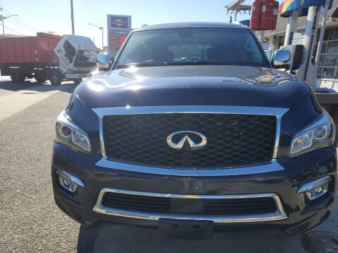 2017 Infiniti QX80 for sale at OFIER AUTO SALES in Freeport NY