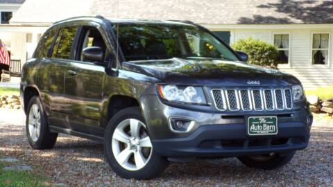 2015 Jeep Compass for sale at The Auto Barn in Berwick ME