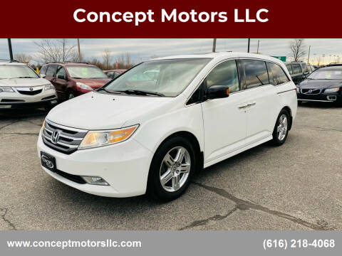 2011 Honda Odyssey for sale at Concept Motors LLC in Holland MI