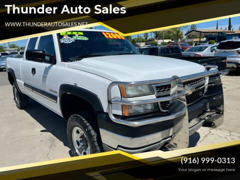 2005 Chevrolet Silverado 2500HD for sale at Thunder Auto Sales in Sacramento CA