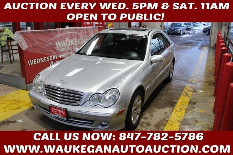2006 Mercedes-Benz C-Class for sale at Waukegan Auto Auction in Waukegan IL