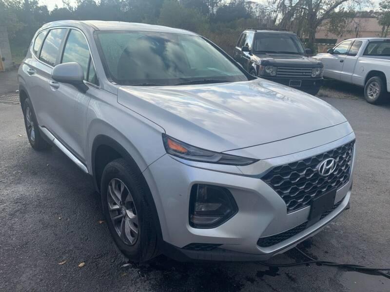 2019 Hyundai Santa Fe for sale at BEACH AUTO GROUP INC in Fishkill NY