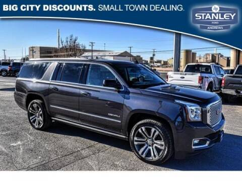 2017 GMC Yukon XL for sale at STANLEY FORD ANDREWS in Andrews TX