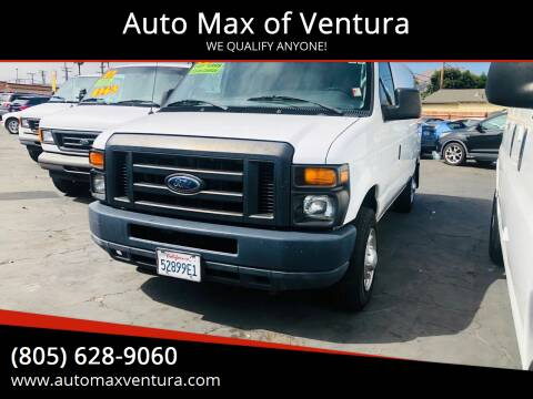 2012 Ford E-Series Cargo for sale at Auto Max of Ventura in Ventura CA