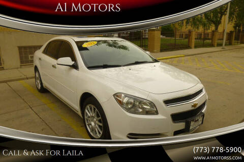 2012 Chevrolet Malibu for sale at A1 Motors Inc in Chicago IL