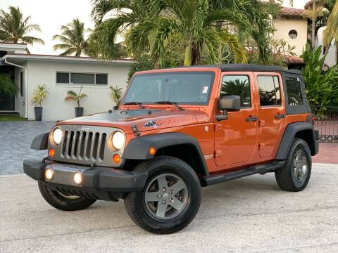 2010 Jeep Wrangler Unlimited for sale at Citywide Auto Group LLC in Pompano Beach FL