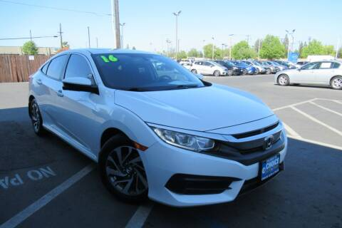 2016 Honda Civic for sale at Choice Auto & Truck in Sacramento CA