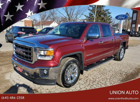 2014 GMC Sierra 1500 for sale at Union Auto in Union IA