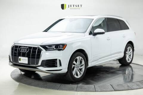 2020 Audi Q7 for sale at Jetset Automotive in Cedar Rapids IA