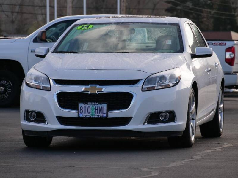 2015 Chevrolet Malibu for sale at CLINT NEWELL USED CARS in Roseburg OR