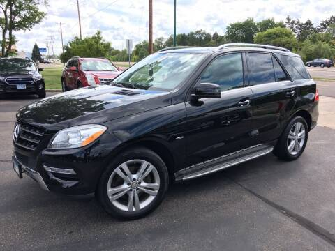 2012 Mercedes-Benz M-Class for sale at Premier Motors LLC in Crystal MN