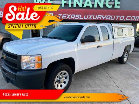 2013 Chevrolet Silverado 1500 for sale at Texas Luxury Auto in Cedar Hill TX