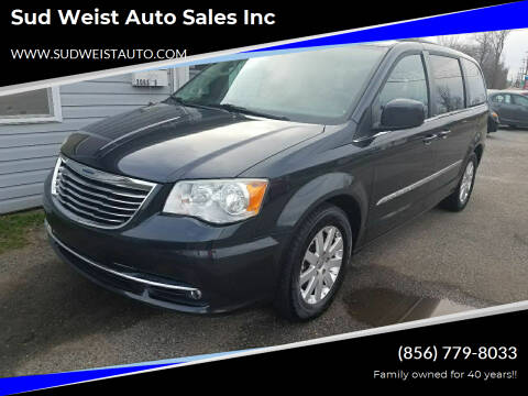 2014 Chrysler Town and Country for sale at Sud Weist Auto Sales Inc in Maple Shade NJ