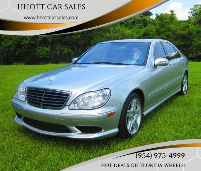 2006 Mercedes-Benz S-Class for sale at HHOTT CAR SALES in Deerfield Beach FL