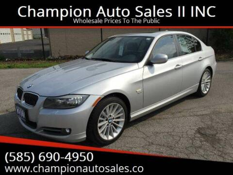 2011 BMW 3 Series for sale at Champion Auto Sales II INC in Rochester NY