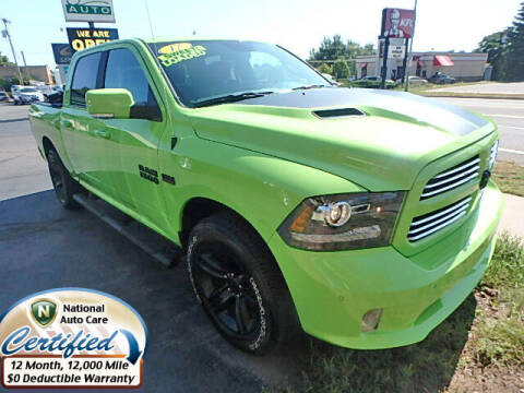 2017 RAM Ram Pickup 1500 for sale at Jon's Auto in Marquette MI