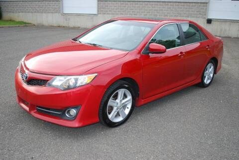 2012 Toyota Camry for sale at New Milford Motors in New Milford CT