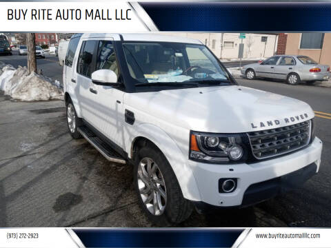 2016 Land Rover LR4 for sale at BUY RITE AUTO MALL LLC in Garfield NJ