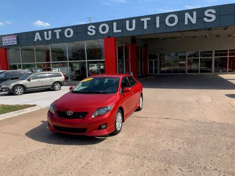 2009 Toyota Corolla for sale at Auto Solutions in Warr Acres OK