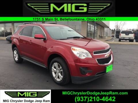 2015 Chevrolet Equinox for sale at MIG Chrysler Dodge Jeep Ram in Bellefontaine OH