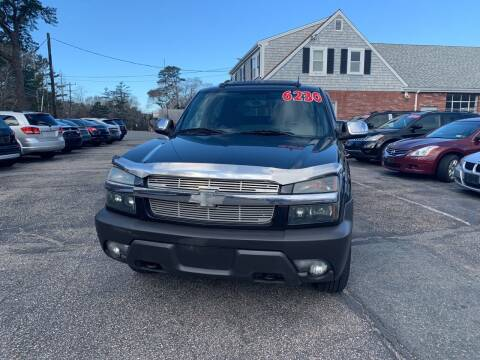 2004 Chevrolet Avalanche for sale at MBM Auto Sales and Service in East Sandwich MA