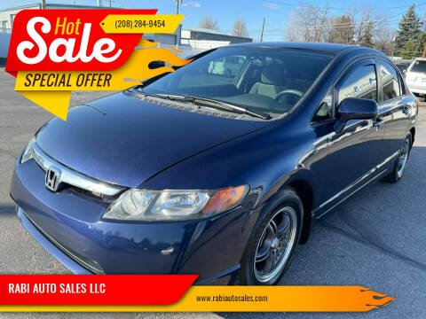 2007 Honda Civic for sale at RABI AUTO SALES LLC in Garden City ID