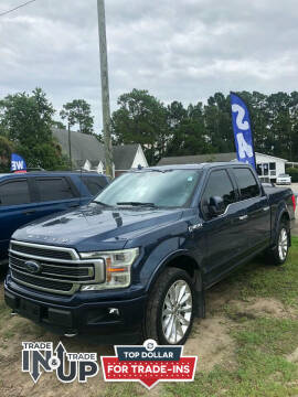 2018 Ford F-150 for sale at Gralin Hampton Auto Sales in Summerville SC