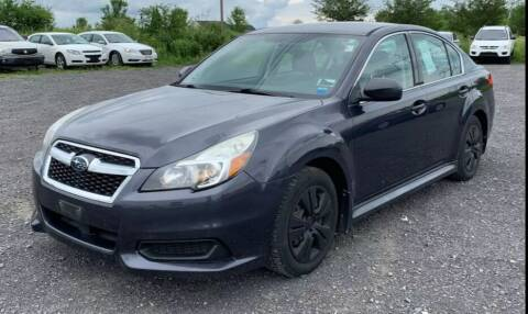 2013 Subaru Legacy for sale at Berkshire Auto & Cycle Sales in Sandy Hook CT
