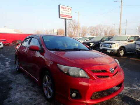 2012 Toyota Corolla for sale at Marty's Auto Sales in Savage MN