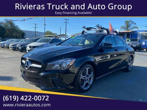 2014 Mercedes-Benz CLA for sale at Rivieras Truck and Auto Group in Chula Vista CA