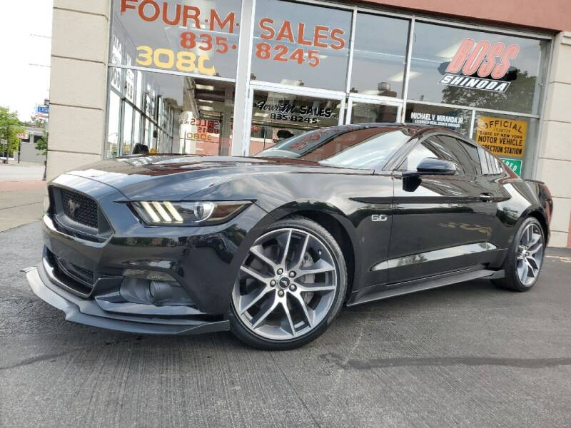 2015 Ford Mustang for sale at FOUR M SALES in Buffalo NY