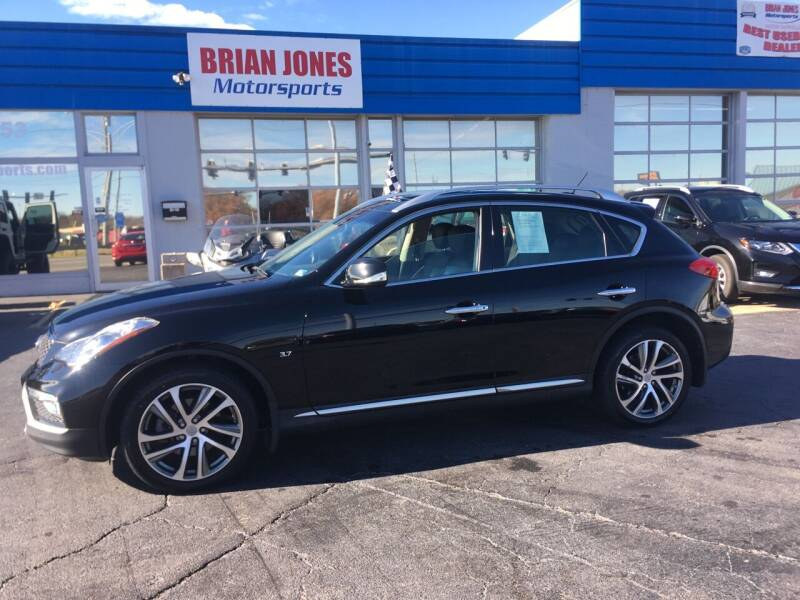 2016 Infiniti QX50 for sale at Brian Jones Motorsports Inc in Danville VA