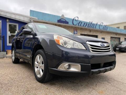 2011 Subaru Outback for sale at Capital City Automotive in Austin TX