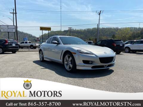 2004 Mazda RX-8 for sale at ROYAL MOTORS LLC in Knoxville TN