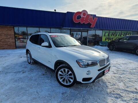 2017 BMW X3 for sale at CITY SELECT MOTORS in Galesburg IL