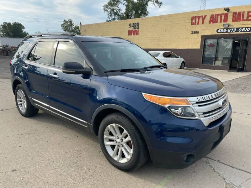 2012 Ford Explorer for sale at City Auto Sales in Roseville MI