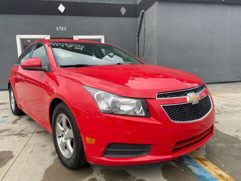 2014 Chevrolet Cruze for sale at NUMBER 1 CAR COMPANY in Detroit MI