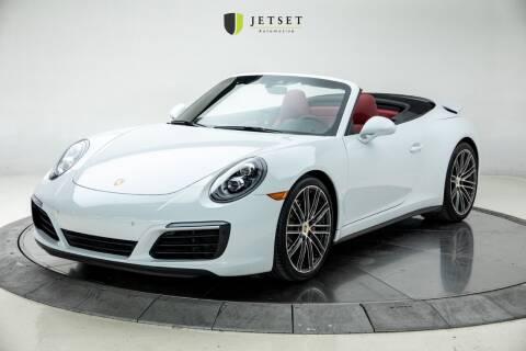 2018 Porsche 911 for sale at Jetset Automotive in Cedar Rapids IA