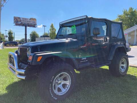 2003 Jeep Wrangler for sale at Ace Motors in Saint Charles MO